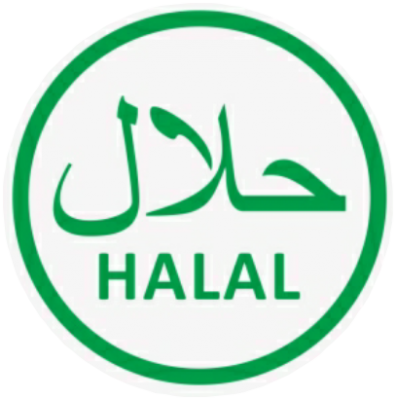 Halal Sticker Green G