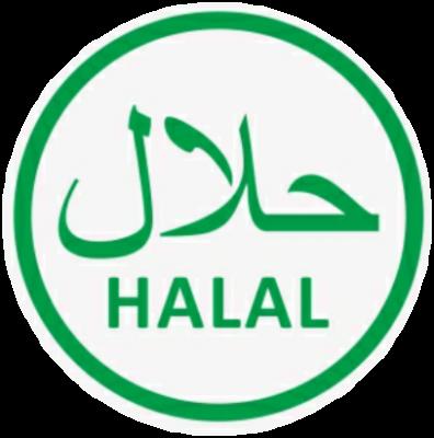 Halal Sticker Green G